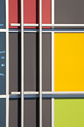 Geometry.color Prints - Mondrian Style Print by Chris Dutton