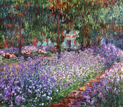 Impressionist Photos - Monet: Giverny, 1900 by Granger