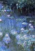 Monet: Waterlilies Print by Granger