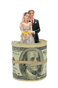 Bride Posters - Money and Happiness Poster by Olivier Le Queinec