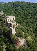 Aerial Photos - Monfort fortress. by Arik Baltinester