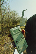 Lenin Prints - Monitoring Fallout Levels From Chernobyl. Print by Ria Novosti