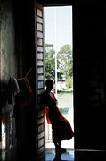 Cambodia Photos - Monk by Marion Galt