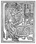 Monk: Scribe, 1488-89 Print by Granger