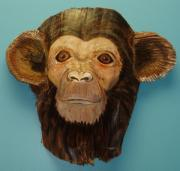 Ape Mixed Media - Monkey Time by Ellen Burns