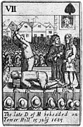 Beheading Prints - Monmouth Rebellion, 1685 Print by Granger