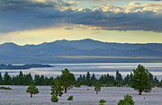 Pretty Clouds Prints - Mono Lake - California Print by Brendan Reals