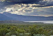 Pretty Clouds Prints - Mono Lake - Eastern Sierra Nevada Mountains Print by Brendan Reals