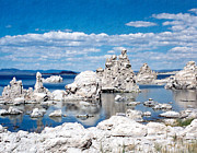 Mono Lake Prints - Mono Lake Print by Kurt Van Wagner
