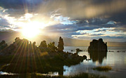Tufa Posters - Mono Lake Sunset - California Poster by Brendan Reals