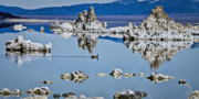 East Of The Sierra Nevada - Mono Lake Tufa by Albert Seger