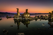 Mono Lake Posters - Mono Lake Tufa at Sunrise Poster by Scott McGuire