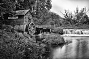 Historic Site Prints - Mono Mill Print by CJ Schmit