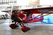 Old Airplane Prints - Monocoupe 110 . 7D11149 Print by Wingsdomain Art and Photography