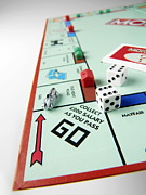 Board Game Photos - Monopoly Board Game by Tek Image