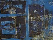 Printmaking Mixed Media - Monotype by Susan Grissom