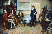 Doctrine Prints - Monroe Doctrine, 1823 Print by Granger