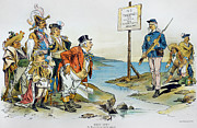 Doctrine Prints - Monroe Doctrine, 1896 Print by Granger