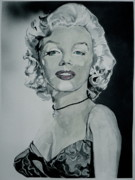 Monroe Painting Originals - Monroe by Jeff  Merrill
