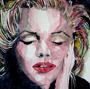 Marilyn Portrait Prints - Monroe no 6 Print by Paul Lovering