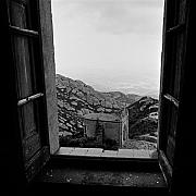 Contrasty Acrylic Prints - Monserrat Window Acrylic Print by Troy Ziel