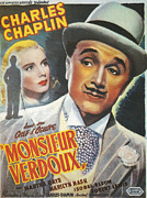 Motion Picture Framed Prints - Monsieur Verdoux Framed Print by Nomad Art and  Design