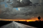 Kenny Jalet Acrylic Prints - Monsoon sunset Acrylic Print by Kenny Jalet