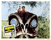 1957 Movies Prints - Monster From Green Hell, Jim Davis, 1957 Print by Everett