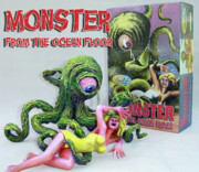Retro Sculptures - MONSTER FROM THE OCEAN FLOOR Resin Kit by Geoff Greene