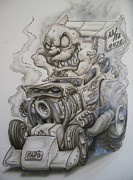 Monster Rod Print by Mike Royal