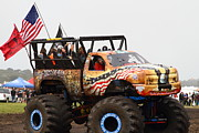 Offroad Prints - Monster Truck 7d15128 Print by Wingsdomain Art and Photography