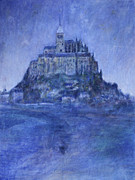 Church Painting Originals - Mont St Michel by Andy  Mercer