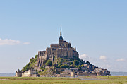 Shrine Island Prints - Mont St Michel Print by Gary Finnigan