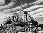 Cathedral Rock Posters - Mont St. Michel Poster by Jim Chamberlain