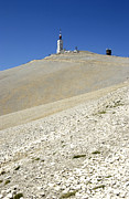 Mountain Top Framed Prints - Mont Ventoux.Provence Framed Print by Bernard Jaubert