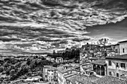 Brunello Framed Prints - Montalcino 2 Framed Print by Andreas Jancso