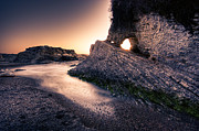 Matthew Trimble Photo Prints - Montana de Oro after sunset Print by Matt  Trimble