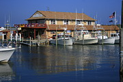 Docks Photos - Montauk Marine Basin by Christopher Kirby