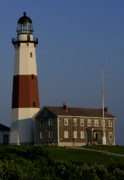 Montauk Photos - Montauk Point Light by Christopher Kirby