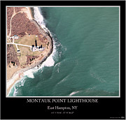 Hamptons Photos - Montauk Point Lighthouse by Adelaide Images
