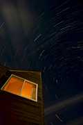 Startrails Posters - Montauk Star Trails Poster by Mike Horvath