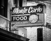 Brick Buildings Prints - Monte Carlo Food Print by Perry Webster