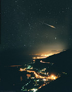 City Lights Prints - Monte Carlo Meteor Print by Don Dixon