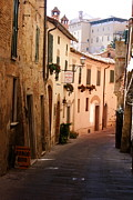 Hilltown Photos - Montepulciano  by  K Scott Williamson
