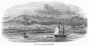 Destiny Prints - Monterey Bay, Calif., 1849 Print by Granger