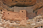 Ancient Ruins Posters - Montezuma Castle - Special in its own way Poster by Christine Till