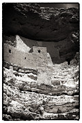 Verde Valley Posters - Montezuma Castle National Monument Poster by John Rizzuto