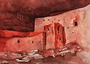 Photographs Painting Originals - Montezumas Castle by Sharon Mick