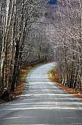 Deborahbenoit Acrylic Prints - Montgomery Mountain Road Acrylic Print by Deborah Benoit