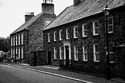 Moravian Framed Prints - Montgomery Street In 18th Century Gracehill Village A Moravian Settlement In County Antrim Framed Print by Joe Fox